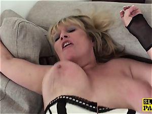 humiliated uk grandma submits to maledom