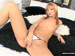 Gabriella Mai busts in Private's audition